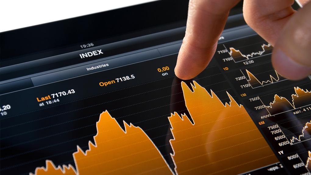 Privater Aktienkauf am Tablet
