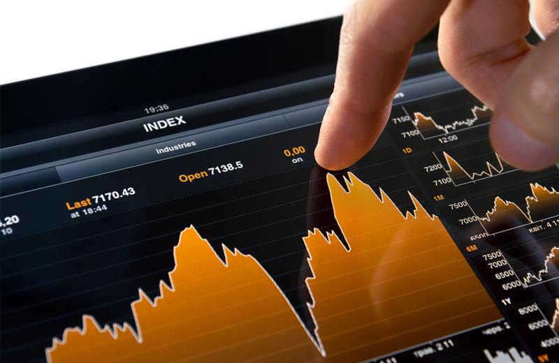 Anleger kauft eine Aktie