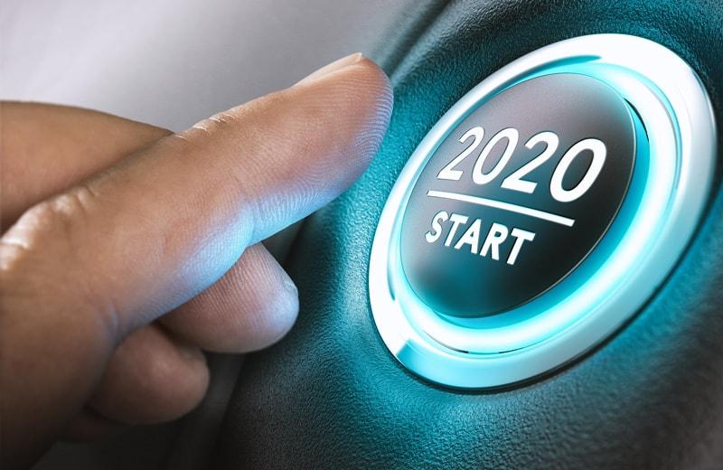 Das Jahr 2020 beginnt