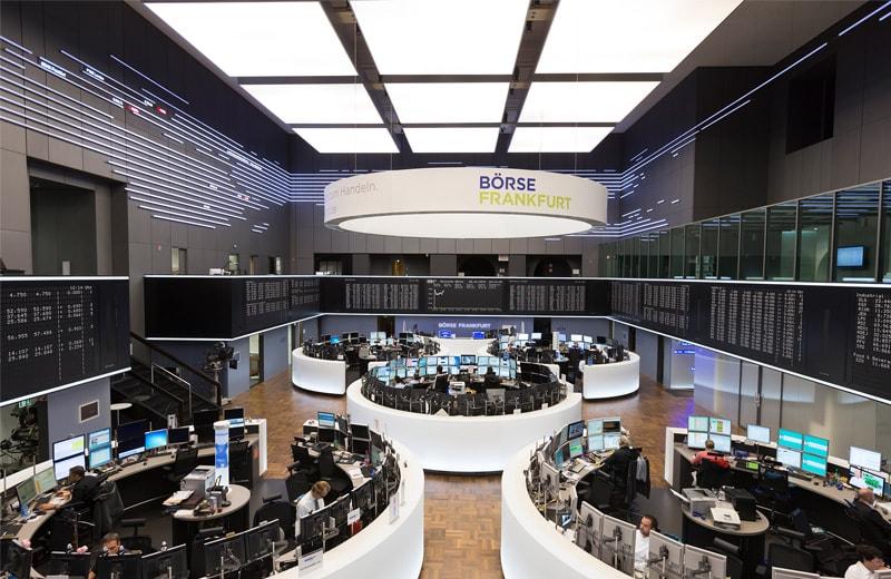 Innenraum Frankfurter Börse