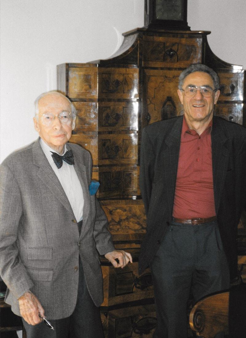 Kostolany und ich in seiner Budapester Wohnung