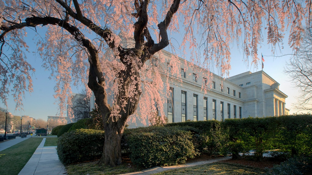 Frühlingshafte Stimmung über der amerikanischen Notenbank