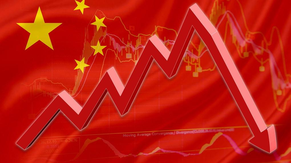 Absturz der Kurse an Chinas Börse