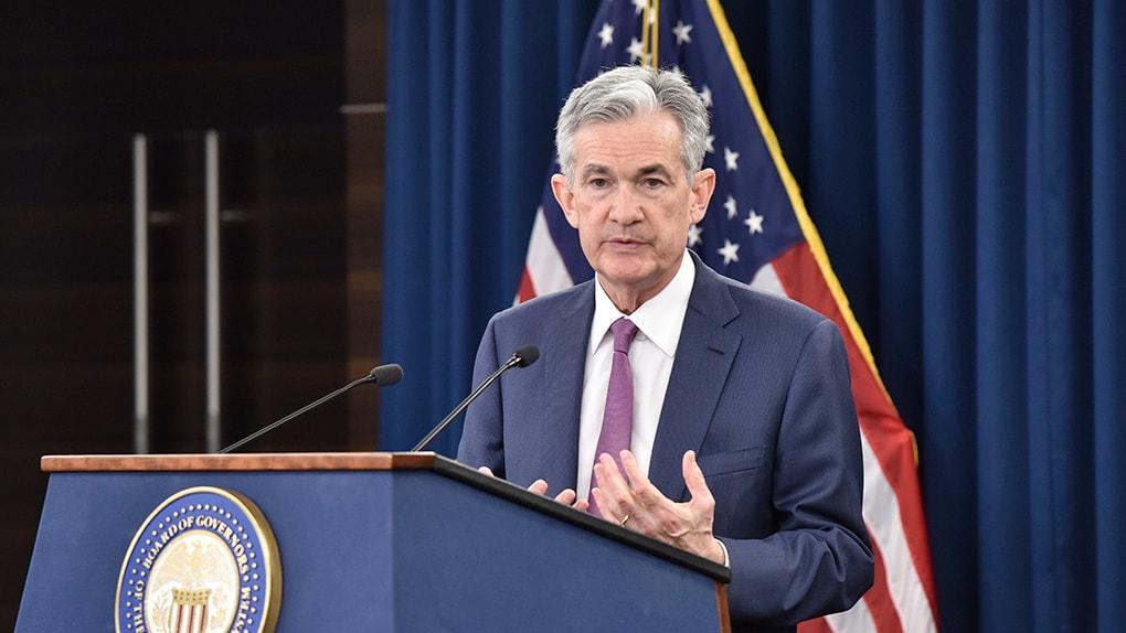 Der Chef der amerikanischen Notenbank Jerome H. Powell