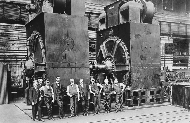 Industrialisierung in den 1920er Jahren in Deutschalnd